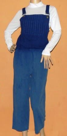 Overall Jumpsuit Warna Gradasi