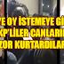 OY İSTEMEYE GİDEN AKP'LİLER CANLARINI ZOR KURTARDILAR