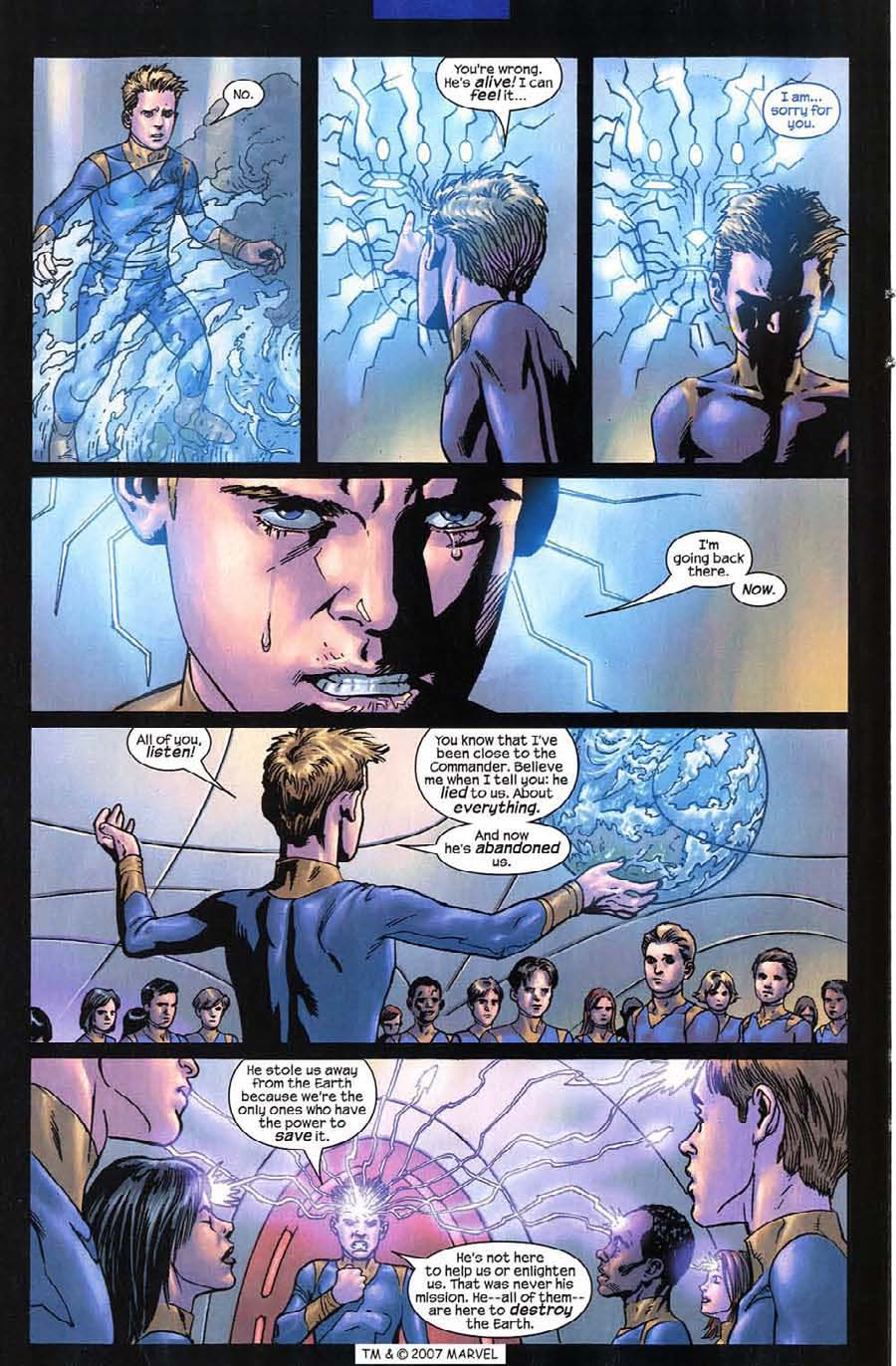 Read online Silver Surfer (2003) comic -  Issue #12 - 14