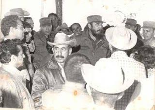 90 cumpleaños de Fidel: Intercambio con obreros del central Ciro Redondo en Ciego de Ávila