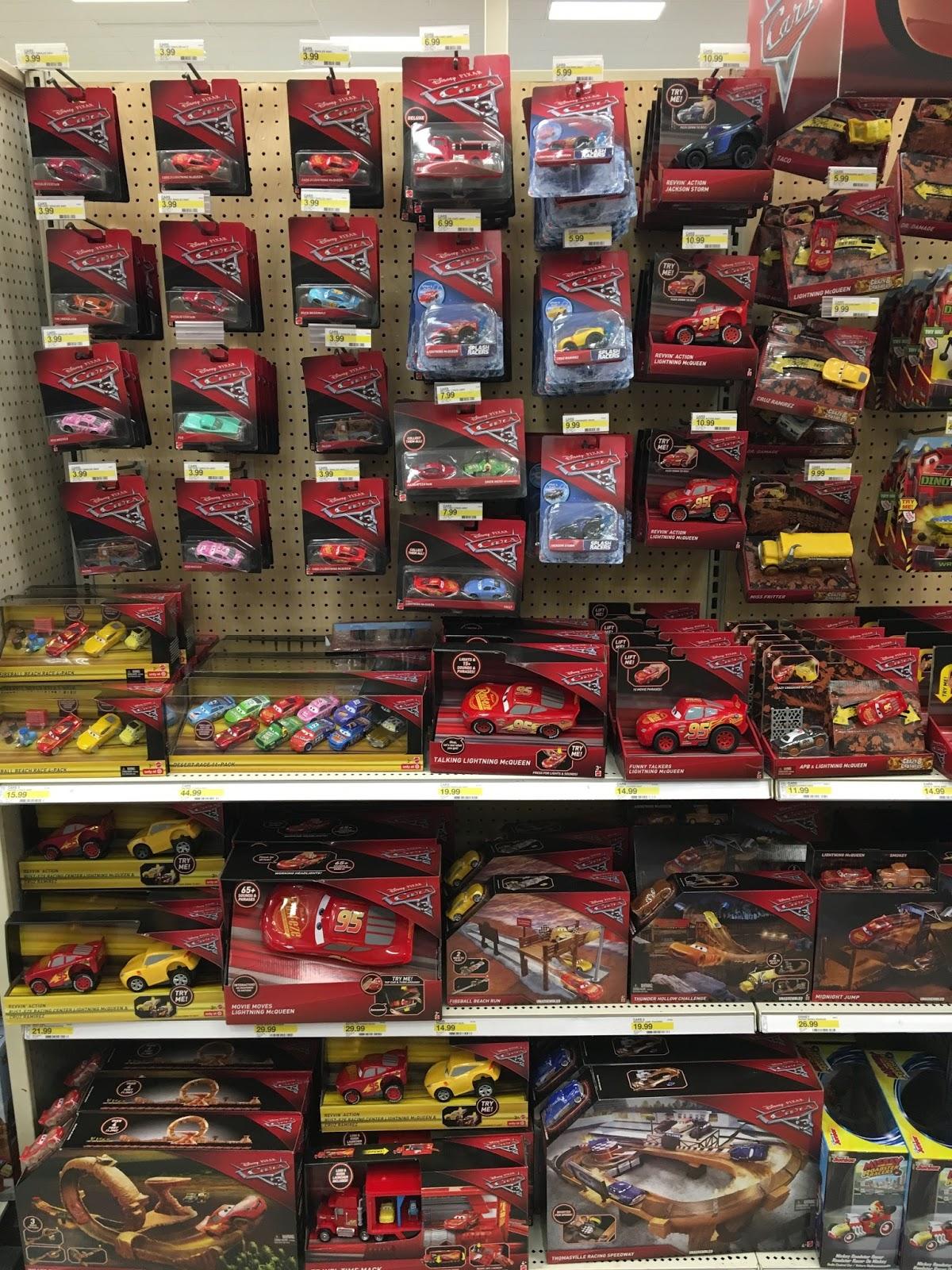 pixar cars 3 toys release 2017 target