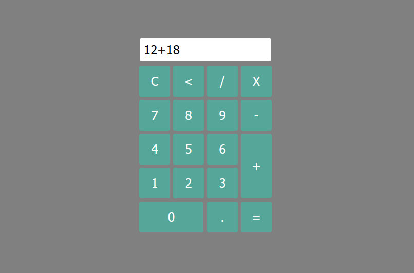 Calculator with Html, Css and Javascript ~ StorialTechRA