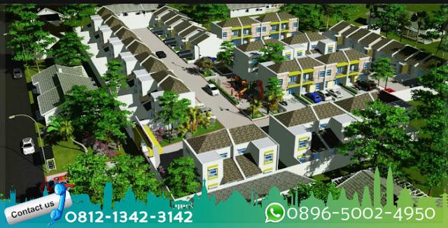 site-plan-cluster-vilamas-bellevue-pamulang