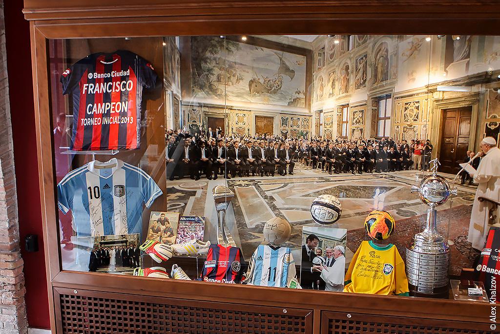 Футбол в Ватикане