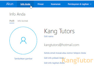 Memverifikasi Email Microsoft