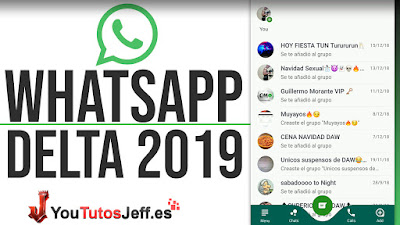 Descargar Whatsapp Delta Ultima Version 2019