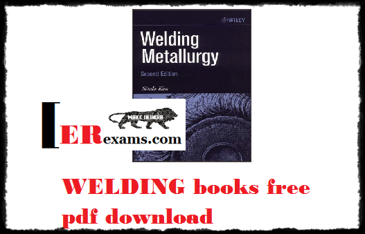WELDING books free pdf download