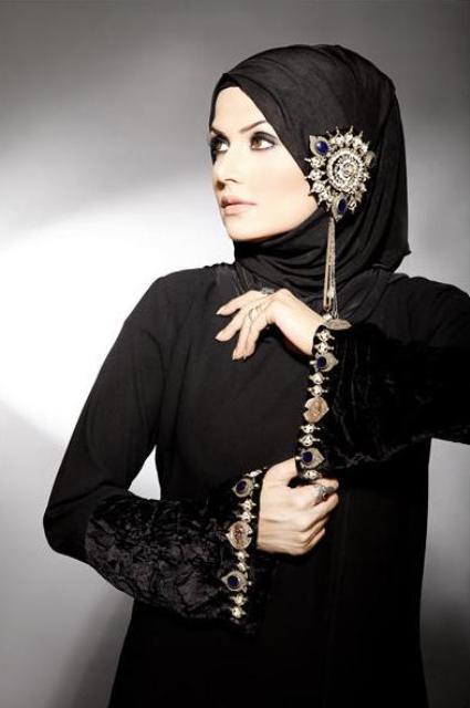 Kewtified New Abaya Designs 2012
