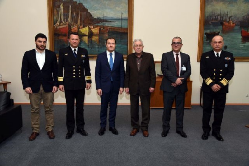 Συνάντηση του Υπουργού Ναυτιλίας και Νησιωτικής Πολιτικής Φώτη Κουβέλη με τον Εκτελεστικό Διευθυντή του FRONTEX Fabrice Leggeri