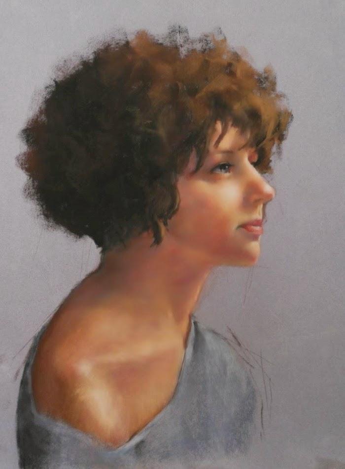В реалистическом стиле. Patricia Tribastone