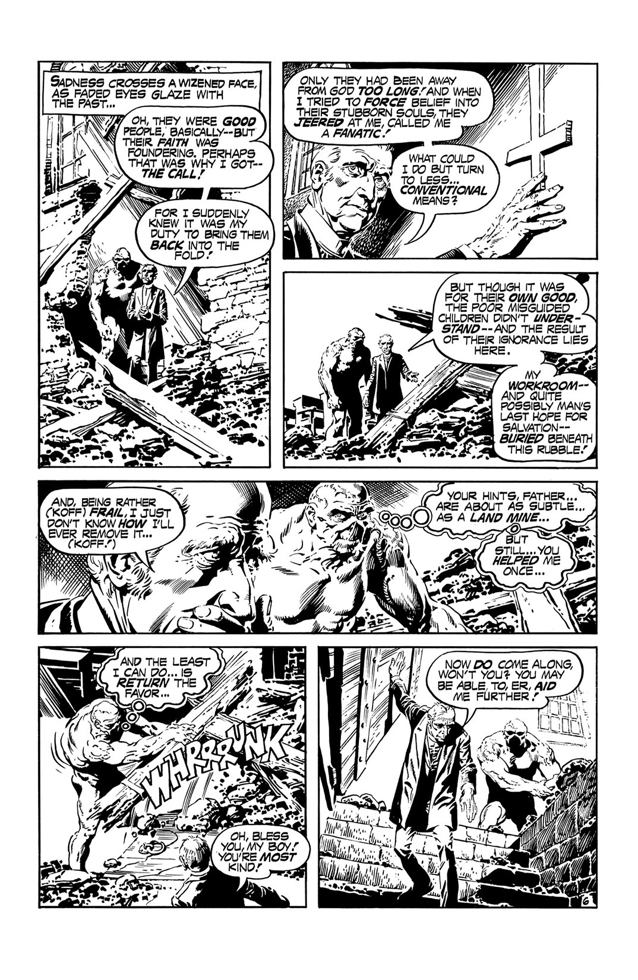 Swamp Thing (1972) Issue #15 #15 - English 7