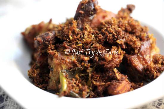 Resep Ayam Goreng Rempah JTT