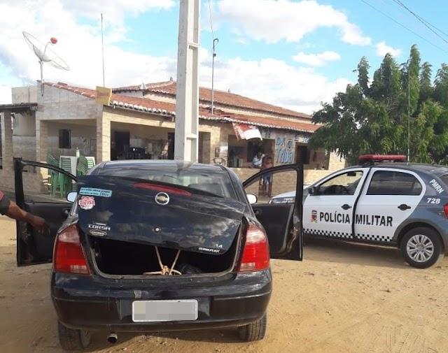 Homem é detido por embriaguez após fazer manobras perigosas zona rural de Major Sales