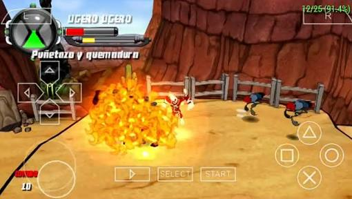 Download Ben 10 Protector Of Earth PSP PPSSPP