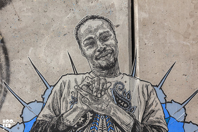 Stunning new Wheatpaste works by Brooklyn Street Artist Swoon