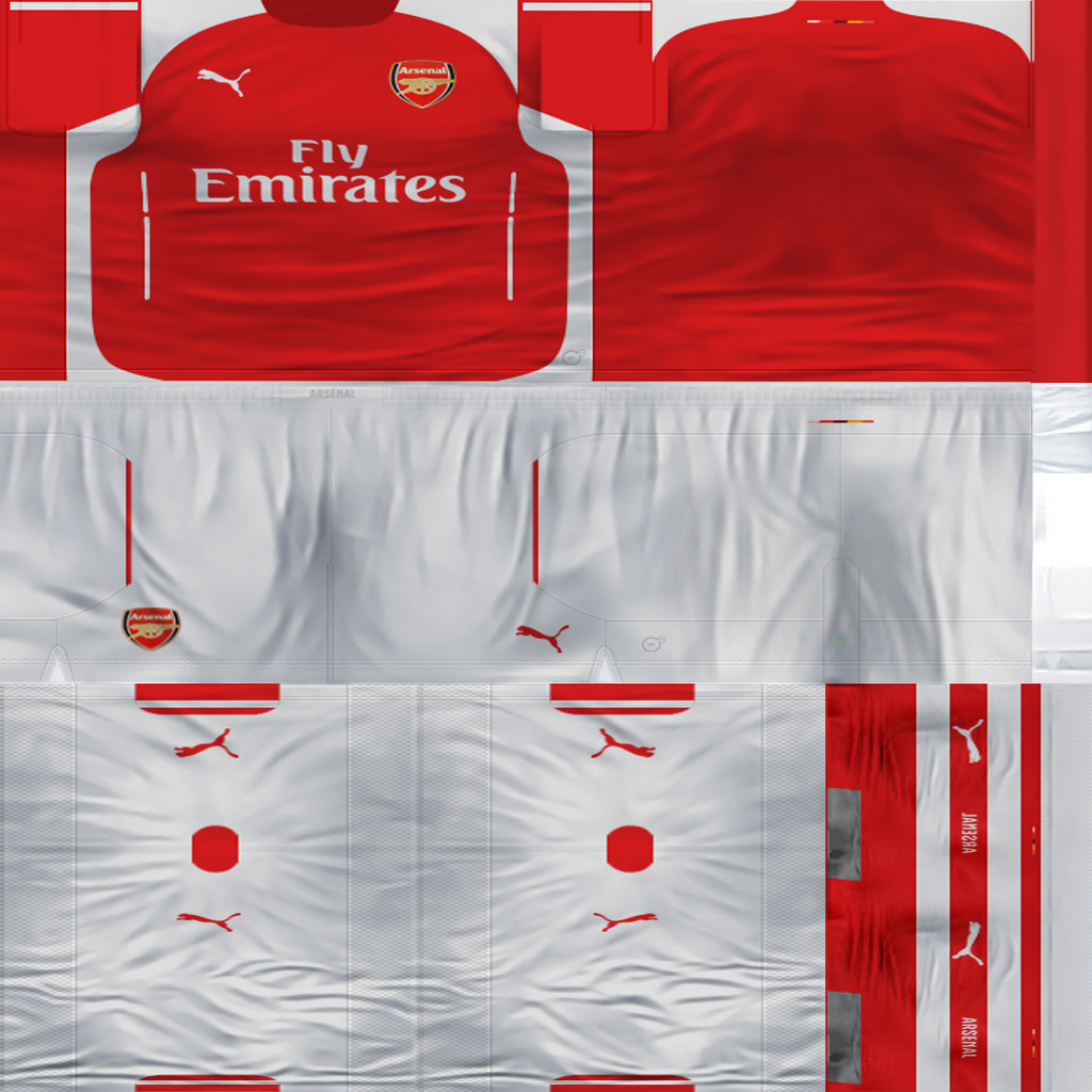 Ultigamerz Pes 2010 Pes 2011 Face: Ultigamerz: ARSENAL 2014-15 KIT PES 6