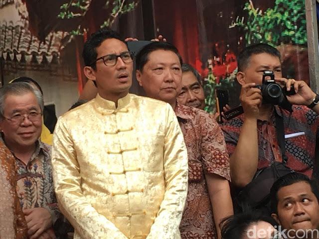 Tahun Politik, Sandiaga Ajak Semuanya Contoh Pilgub DKI yang Damai