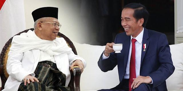 Maaf Ya, Kemenangan Jokowi-Ma'ruf di Pilpres 2019 Lebih Besar dari 2014