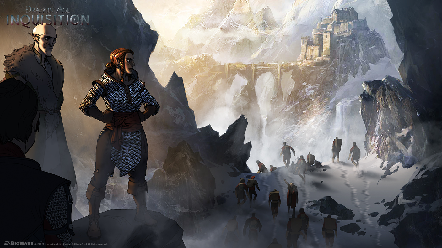 The Geeky Nerfherder: More 'Dragon Age: Inquisition' Concept