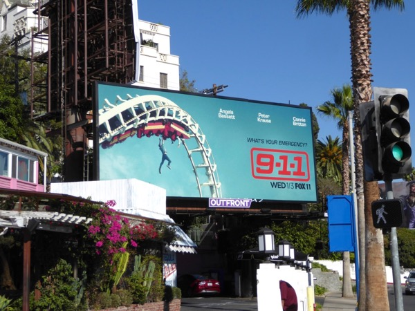 911 series launch billboard