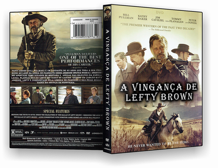 CAPA DVD – A.Vingança de Left Brown – DVD-R