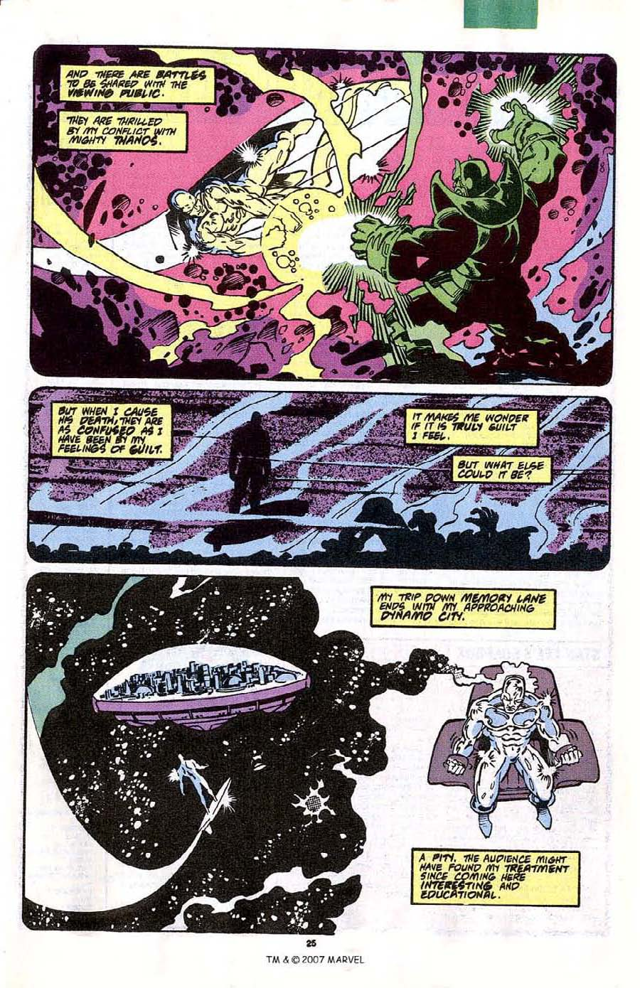 Read online Silver Surfer (1987) comic -  Issue #41 - 27