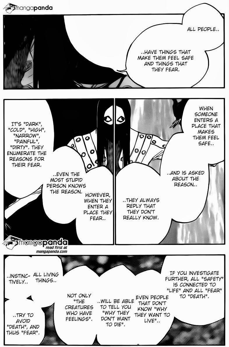 Bleach chapter 567 trang 9