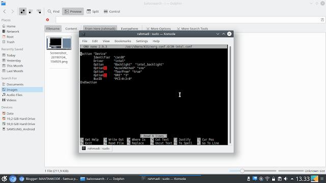Cara Install Intel Graphic card Brightness di Kubuntu - mantankode