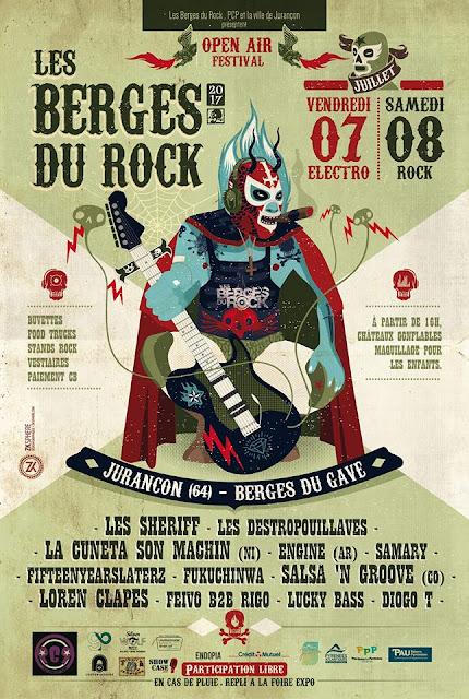 festival Les Berges Electro et Rock Jurançon 2017
