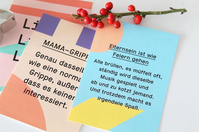 Eltern Weisheiten Postkarten Weihnachtsgeschenke Geschenkidee Kleine Prints Fotogeschenke fuer Kinder und Eltern Jules kleines Freudenhaus