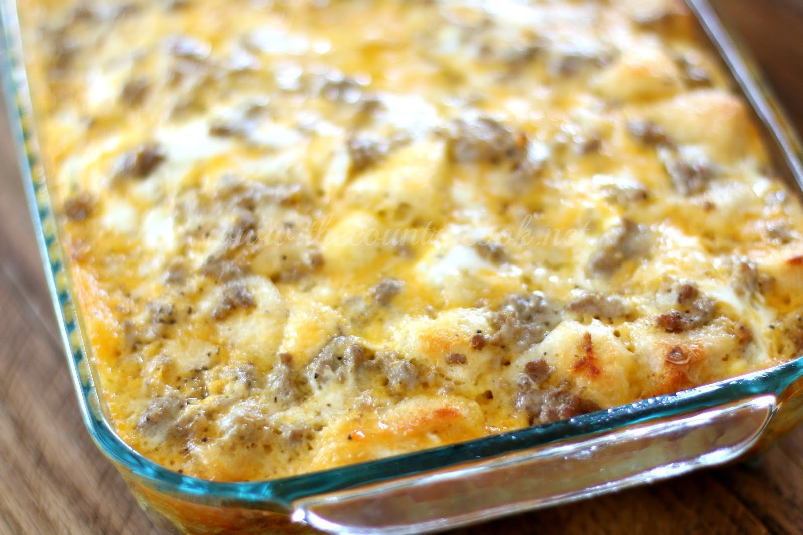 sausage egg and cheese bake
