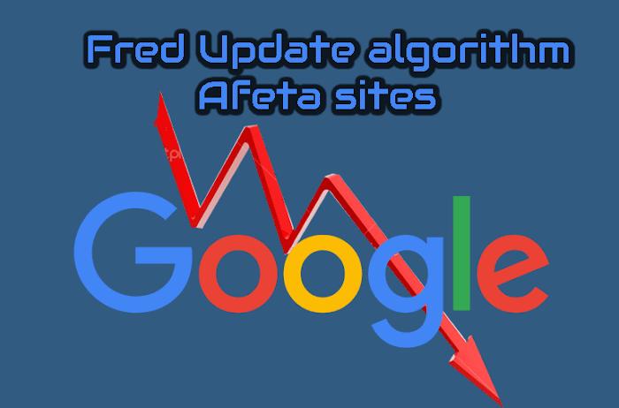 Atualização Fred do Google vai afetar sites que se concentram nas receitas