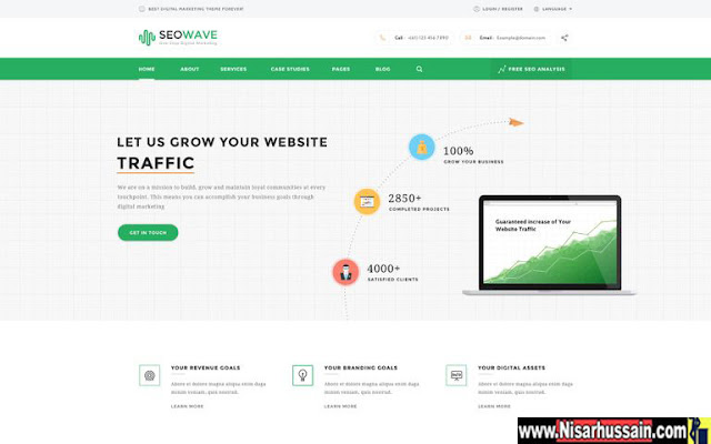 SEO WordPress Theme for Search Engine Optimization