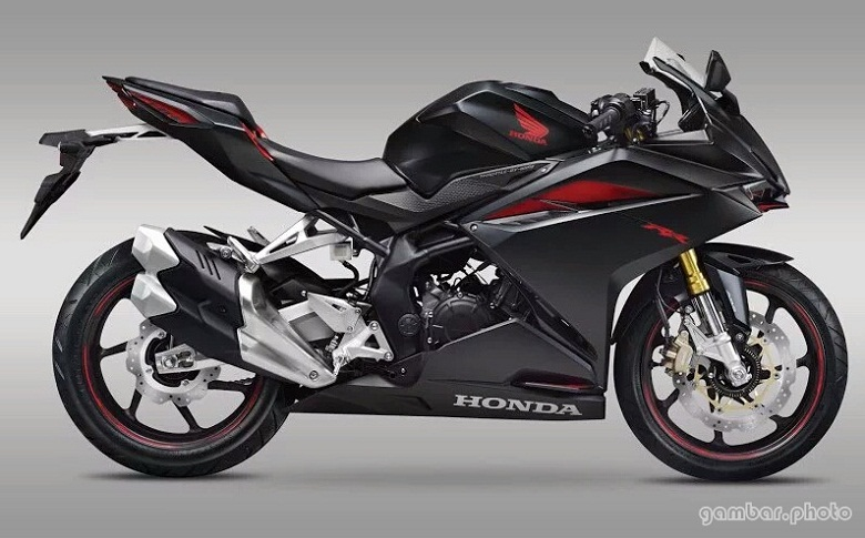 All New Honda CBR250RR Mate Gunpowder Metallic