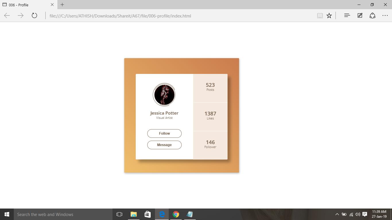 Free download source codes| web design source code | Profile