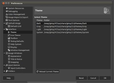 Gimp Theme Linux