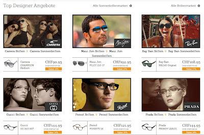 SmartBuyGlasses.ch Wettbewerb 50 Franken Gutschein