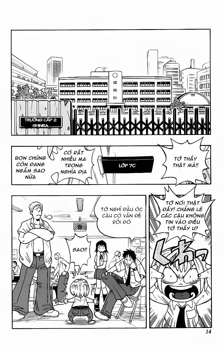 Shaman King [Vua pháp thuật] chap 1 trang 15