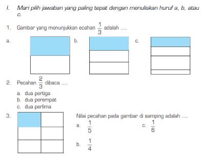 6 Indonesia Latihan Ujian Bahasa Sekolah Kelas Soal 3 Semester Genap Kumpulan Soal Uts
