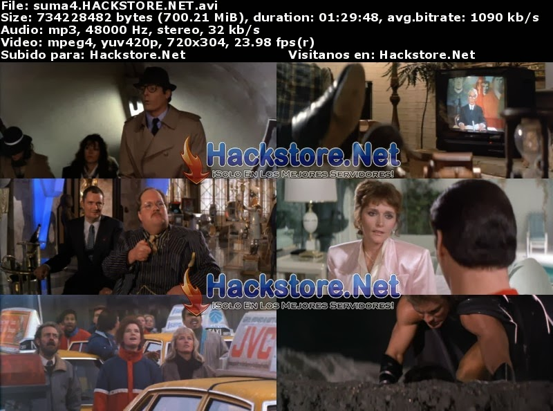 Captura Superman 4 - En Busca de la Paz (1987) DVDRip Latino