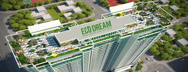 Tiện ích tầng mái chung cư Eco Dream