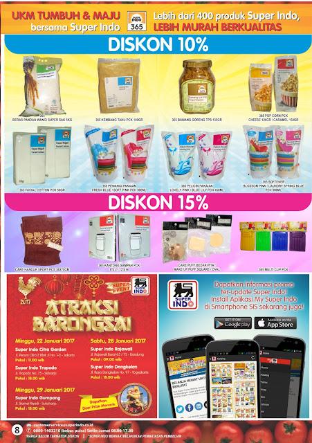 Katalog Super Indo Yogyakarta Solo Salatiga Magelang Semarang Edisi 12-18 Januari 2017