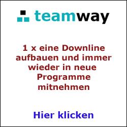 Teamway Registrierung
