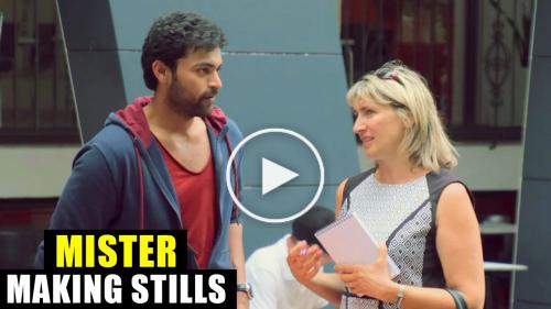 Mister Movie Making Stills - Varun Tej, Lavanya Tripathi, Srinu Vaitla