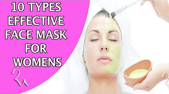 10 TYPES OF FACIAL MASKS TO SAVE YOUR SKIN | HOME MADE Face Mask for Oily Skin, Dry Skin