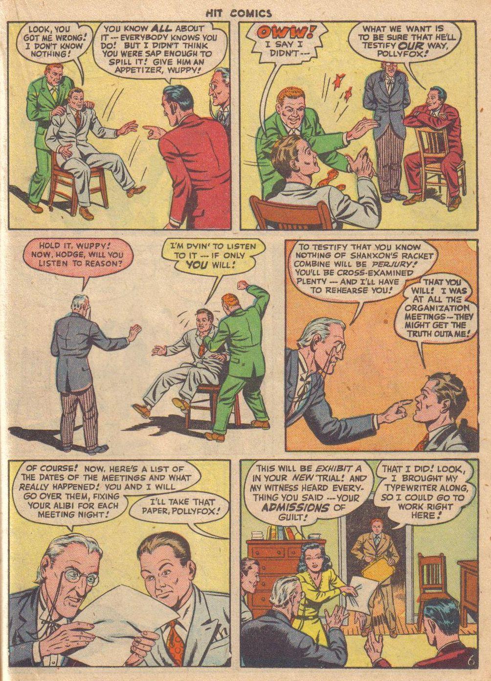 Read online Hit Comics comic -  Issue #46 - 35
