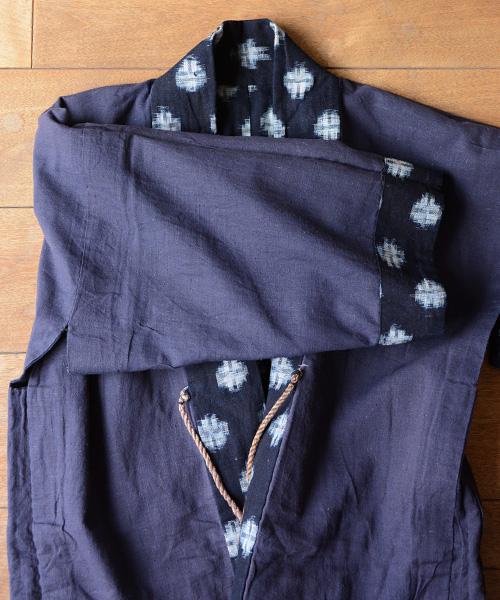 野良着 FUNS noragi 藍染 絣 木綿 40~50年代 ジャパンヴィンテージ 着物