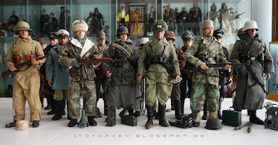 osw.zone Some of the Second World War uniforms in the 1/6 scale, all thanks to Dragon Models Limited