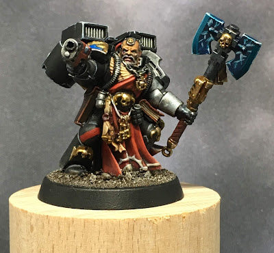 Deathwatch Librarian with Jump Pack