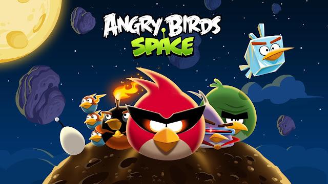 Angry Birds - Space Portada